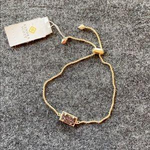 NWT Kendra Scott bolero Black druzy bracelet